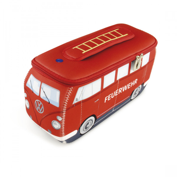 VW Bulli T1 3D Neopren Universaltasche Feuerwehr