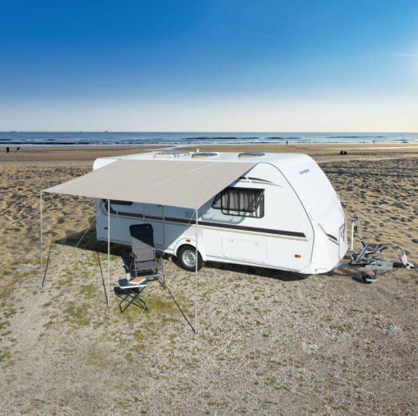 Sonnendach Playa 5 grau 400 x 240 cm