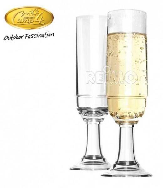 Polycarbonat Gläser St.Tropez Sekt Set 210ml