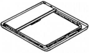 Rollo inkl. Rahmen Omnivent bis '04