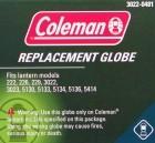 Coleman Ersatzglas Compact, Gas- und Benzin