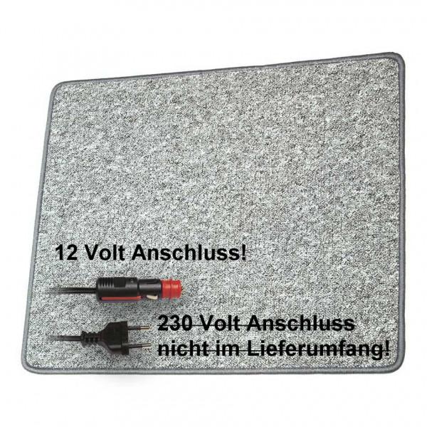 Pro Car Heizteppich 60 x 100 cm grau 12 Volt / 60 Watt