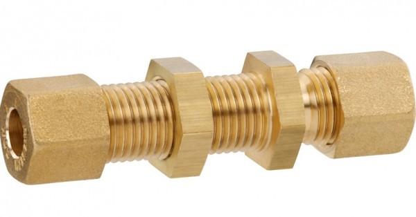 GOK Schottverschraubung Messing 8 mm gerade