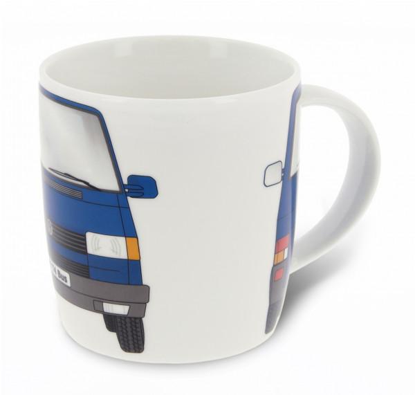 VW T4 Bulli Bus Kaffeetasse 370ml blau