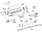Montagesatz Thule Omnistor 5002 / 5003 Markisenlänge 4 m
