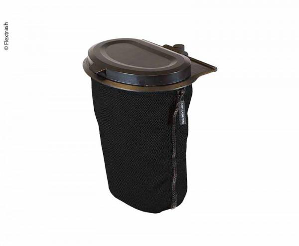 Flextrash Mülleimer 3 Liter schwarz