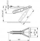AL-KO Stabilformstütze kurze Ausführung