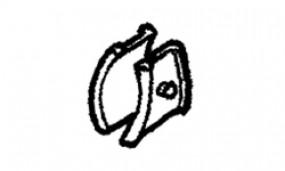 Distanz-Gummi Omni-Leiter 5-stufig - Gummi für Abstandshalter / Omni-Leiter 5-stufig