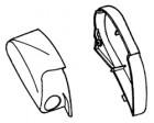 Endkappen Thule|Omnistor 6900 - Endkappe links Thule|Omnistor 6502 12V / 6802 12V / 6900 12 V, weiß