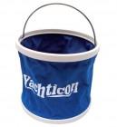 Falteimer 9 Liter mit stabilem Boden und Aufbewahrungstasche