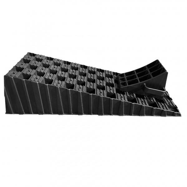 Milenco Stufenloser Auffahrkeil XL mit Parkstopper