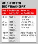 ALKO-Ersatzradhalter - EH 1 / C 1450-1850 mm