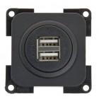 System 20.000 USB-Lader 2-fach