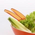 Gimex Salatbesteck orange