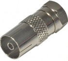 Kuppler Koax- / F-Stecker