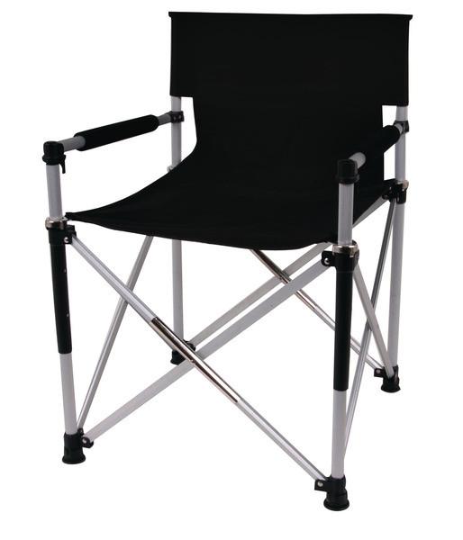 Regiestuhl Directors Chair Luxus Faltstuhl schwarz