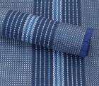Arisol Zelt-Teppich Briolite uni blau 250 x 400 cm
