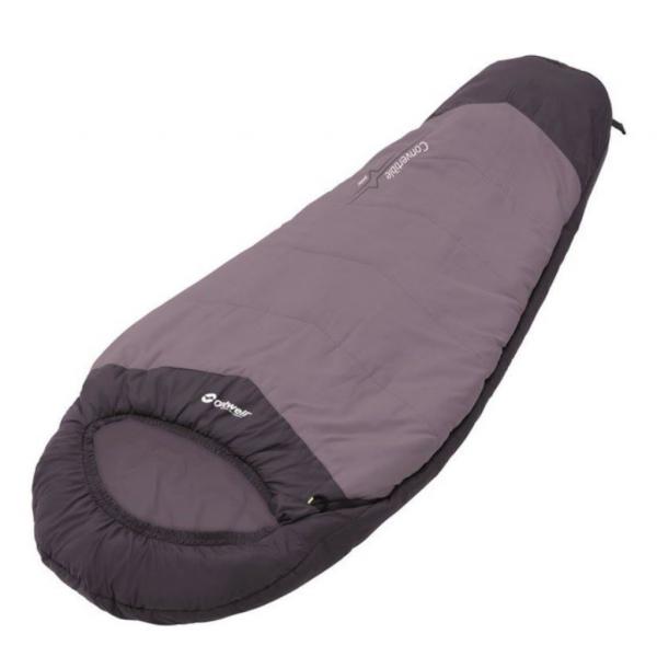 Outwell Convertible Junior purple Kinderschlafsack