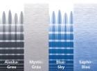 Thule Omnistor 6200 weiß Länge 2,6 m Blue-Sky