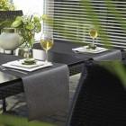 Tischläufer Miami metallic grün