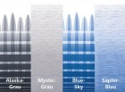 Thule Omnistor 6200 weiß Länge 2,6 m Saphir-Blau