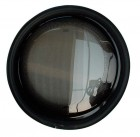 Polyplastic Bullauge starr, 300 mm (Glas = 276 mm) ohne Gummi