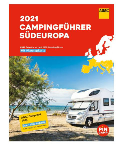 ADAC Camping-Caravaning-Führer Südeuropa 2021
