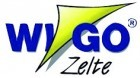 Wigo Vorderwand für Rolli Premium 2,5m Dunkelblau/Weiß