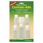 Coghlans Kunststoffdosensortiment 7 Flaschen