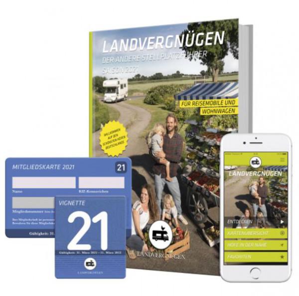 Stellplatzführer Landvergnügen 2021