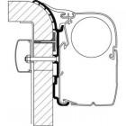 Adapter-Set Dethleffs Globebus für Thule Omnistor 8000, Länge 4 m