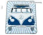 VW Collection Bulli-Picknickdecke blau