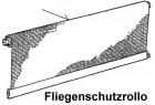 Fliegenschutzrollo komplett für Rastrollo 2000