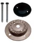Kit Brennerkorpus klein mit 2 Löchern und Brennerdeckel emailliert für SMEV-Kocher neue Modelle