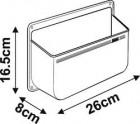 Fiamma Staubehälter weiß 8 x 26 x 16,5 cm