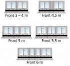 Thule Safari Panorama für Thule Omnistor 5003 für Markisenlänge 4 m Extra Large