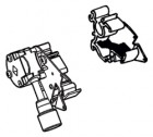 Endplatte Thule|Omnistor 6900 - Endplatte rechts Thule|Omnistor 6502 / 6802 / 6900