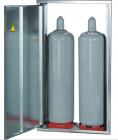 Gas-Flaschen-Schrank für 2 Gasflaschen 33 kg