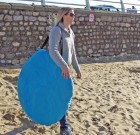 Beach Hut OLPro blau Pop-up Zelt