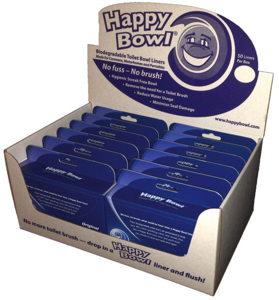 HappyBowl WC-Einlage Brillenschutz