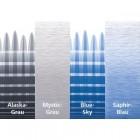 Thule Omnistor 9200, weiß, 4 x 3 m, Saphir-Blau