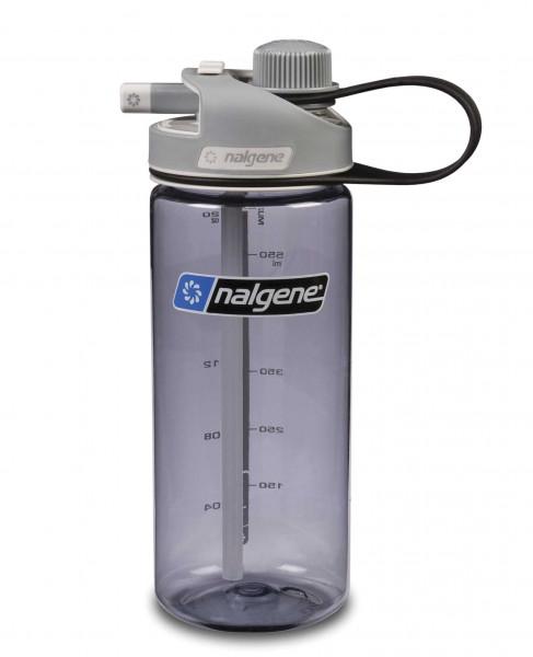 Nalgene Trinkflasche Multi Drink 0,6 L grau