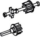 Tuchrollenendkappen Thule|Omnistor 6900 - Tuchrollenendkappe links Omnistor 6502 12V / 6900 12V