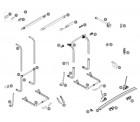 Endkappen mit Bolzen für Befestigungsschiene Thule Sport Elite 2er-Satz