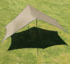 Sonnensegel Tarp Morgan 4,4 x 4,4 x 2,3 m braun