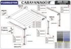 Spannstange und Stützfuß links für Caravanstore 05