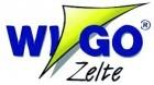 Wigo Vorderwand für Rolli Premium 4m Dunkelblau/Weiß