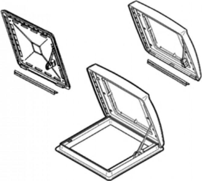 Haube für Omnivent - Haube transparent Omnivent bis '04