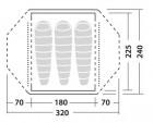 Robens Lodge Zelt 3 Personen