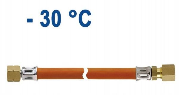 Gasschlauch 400 mm Überwurfmutter x Schneidringverschraubung